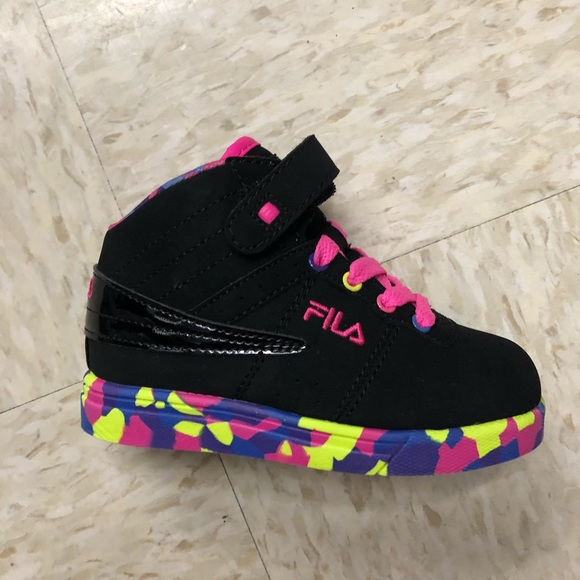 closer at multiple colors sports shoes Fila Shoes   New Baby Girl Sneakers   Poshmark